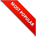 image of a ribbon with most popular written on it