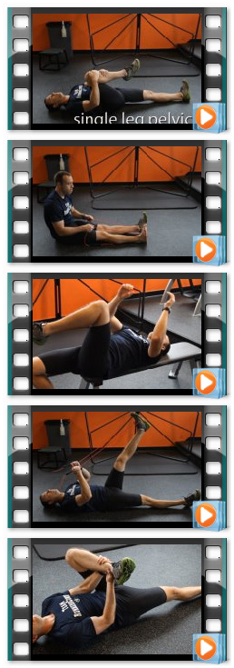 An image of the active stretching routines