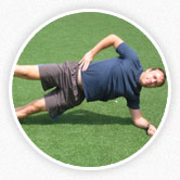 An image of Jeff Gaudette performing an exercise routine