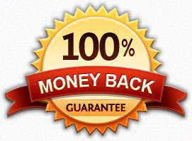 An image of a money back guarantee symbol