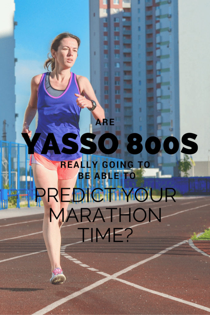 Had never really thought of it this way, but this running coaches thoughts on Yasso 800's for marathon training makes sense. We really should consider a different workout to prepare you for the race, and this article explains why.