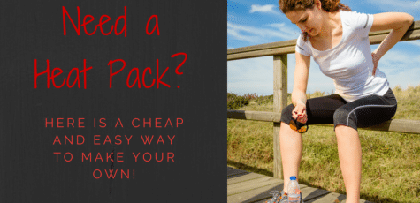 Definitely going to give this a try! Running often comes with injuries, and heat helps to alleviate some of the pain, but heat packs can be expensive. It is easy to make your own from home with items you already have!