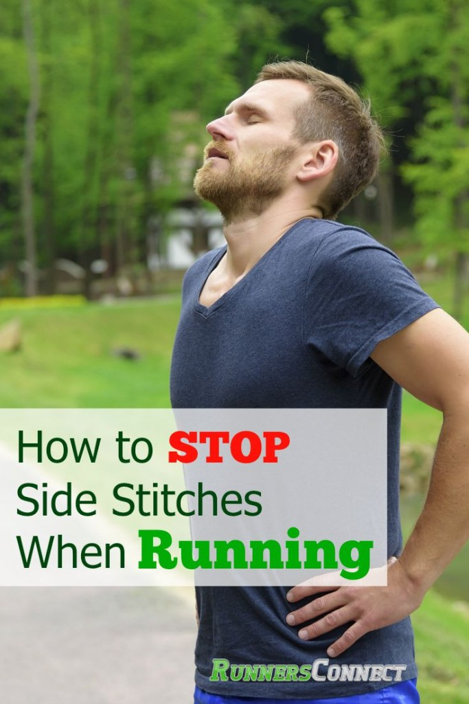 Side stitches are painful, and make running miserable. How do you stop it? Here is a simple and easy trick to prevent and stop side stitches during a run