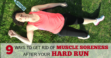How To Treat Sore Muscles After A Run