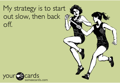 marathon race strategy