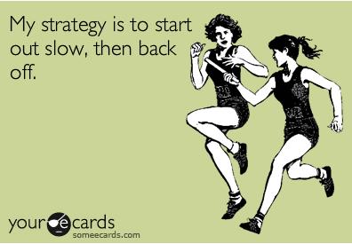 marathon race strategy