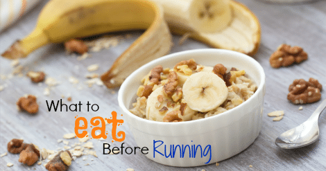 Step 1 Timing Your Pre Run Meals