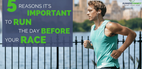 Is it bad to run the day before a race? Isn't it better to rest and save energy? You would think, but you will perform better if you DO run the day before.