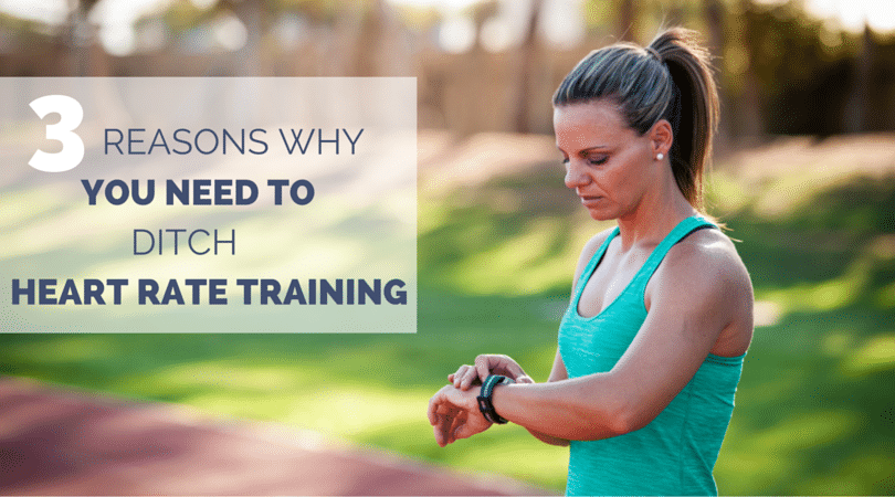 Runners love heart rate training, but it is inaccurate and can be setting you up for failure. Here are 3 things to consider if you use a heart rate monitor.