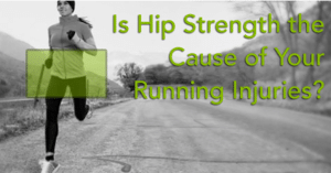 Weak hips can be the cause of IT band pain, patella tendonitis (runner's knee), sciatica, & many of other common running injuries. We show you how to fix!