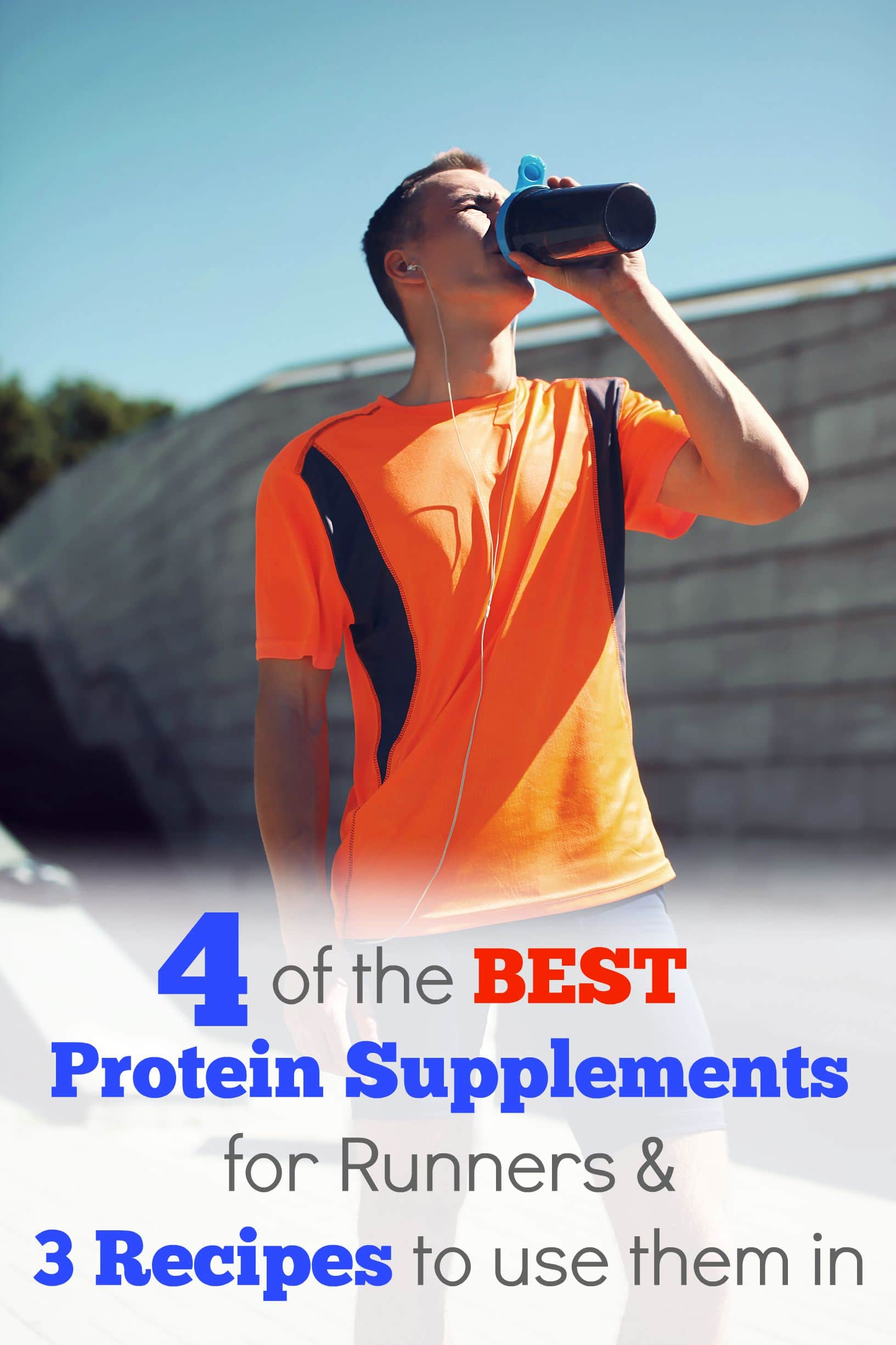 4 Essential Protein Supplements for Runners