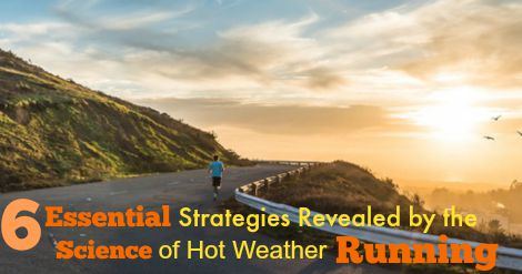 Summer running can make your runs miserable. We look at the science behind it, and give you 6 ways you can use that information to be better prepared, and enjoy your training more. Runners, this will help you feel more prepared in the heat.