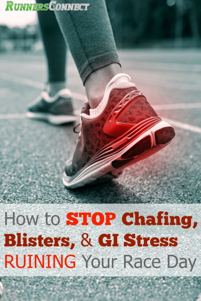 Blisters, chafing, and stomach upsets (GI Issues) can quickly turn a great race into a death march. Learn about the latest research to prevent them, to make sure your race goes smoothly (if you run smart!).