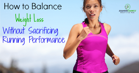 Can you lose weight without sacrificing performance? Yes and here are some guidelines to help you lose weight while working towards your PR