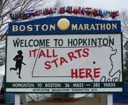 What to Eat Before the Boston Marathon