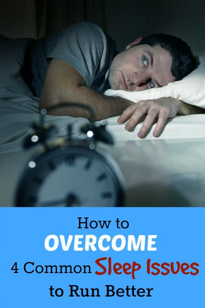 Sleep is so important to recovery, and running your best, but what if you struggle to sleep? You are not alone. We give you advice on how to overcome 4 common issues many runners have.