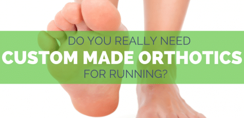 Custom orthotics for running can help prevent injuries like runners knee and plantar fasciitis, as well as helping with over pronation, high arches, and flat feet, but are they worth the cost? Here's how to know if it will work for you.