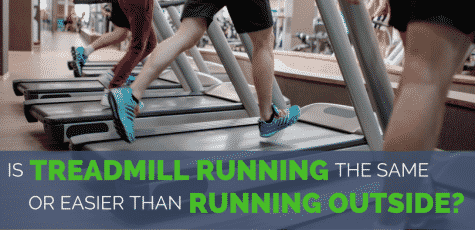 The scientific research on the differences, physically and mentally, between treadmill running vs running outside