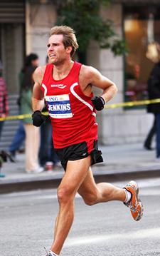 nate jenkins marathon training