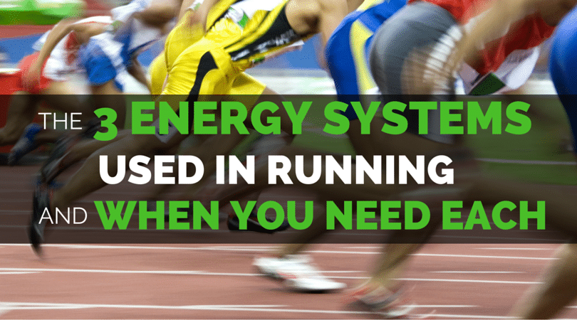 There are 3 energy systems that allow us to run at every speed. Understanding which system you are using for each running workout can help you.