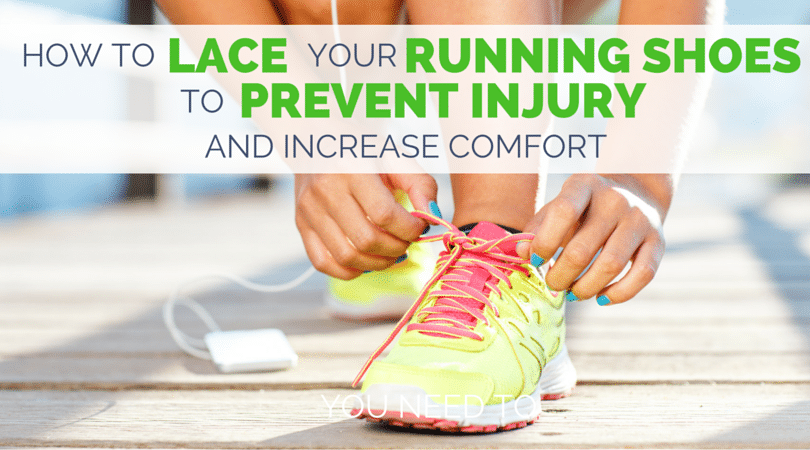 All We Need To Run Is Good Running Shoes But Lacing Wrong Can Mean Injuries