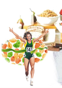 marathon nutrition taper
