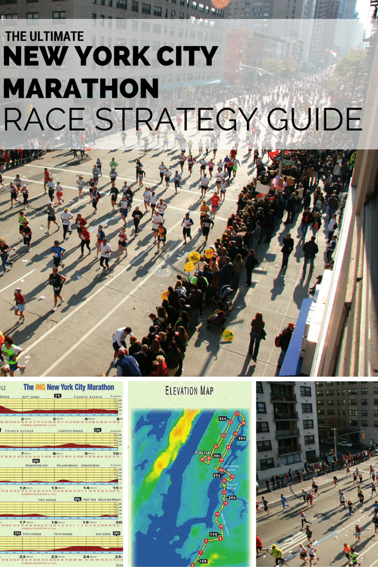 New York City Marathon Race Strategy