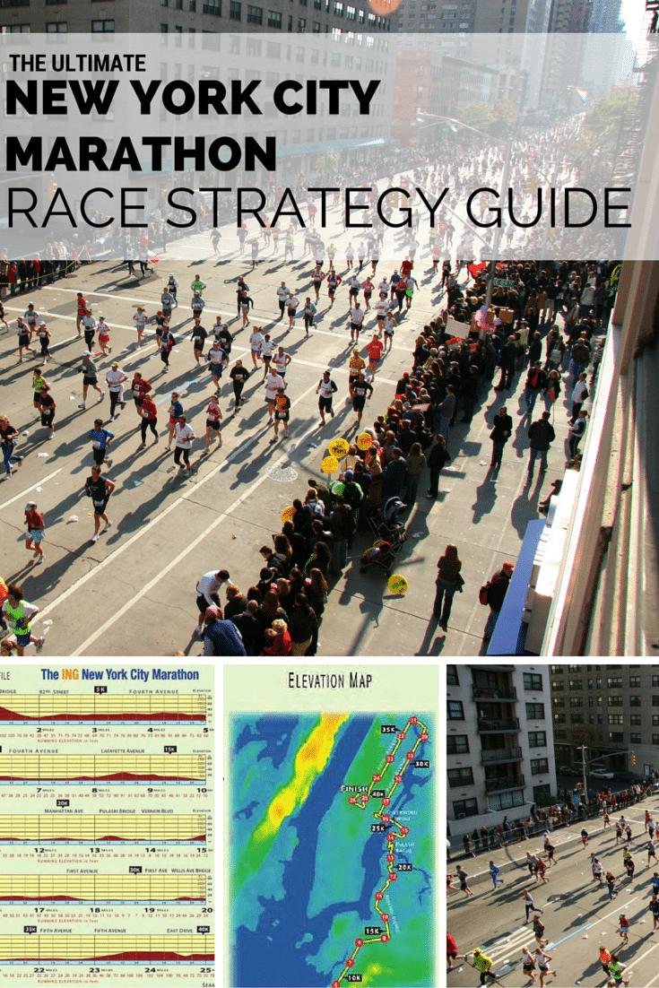 New York City Marathon Race Strategy - New york city elevation map
