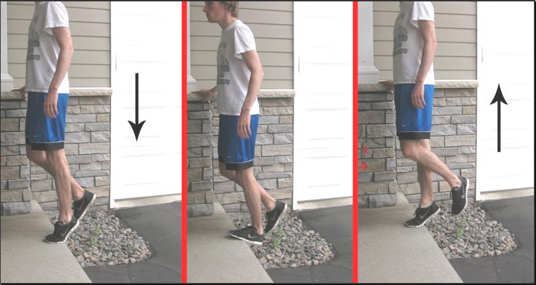 eccentric heel drops achilles tendonitis