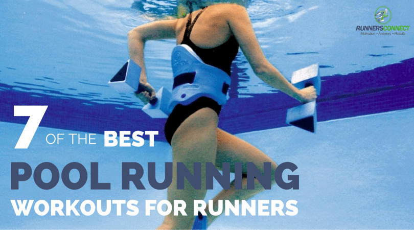 Injuries happen, but what can you to to maintain fitness while injured from running. Pool running is a good cardio replacement. Here are the benefits of aqua jogging, and 7 workouts to use in the pool.
