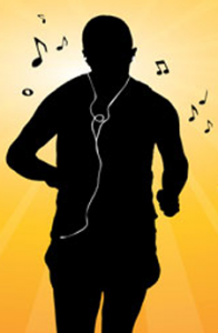 does music help you run faster