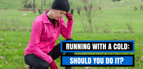 If you have a cold and would prefer not to miss a training run or race, what does the science and research say we should do? It's not what you expect!