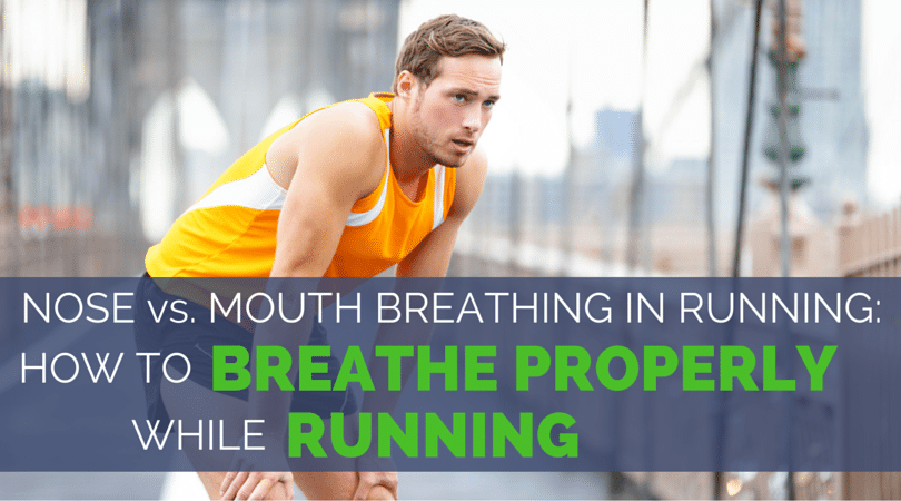 Is there a proper way to breathe while running? Yes, but it's not what you think! Nose breathing will help, but stomach breathing makes all the difference!
