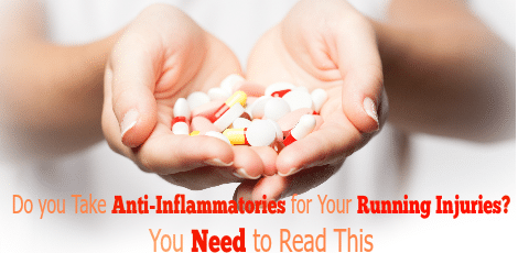 It seems natural to take an anti-inflammatory medication to treat an inflamed running injury, but it may be harmful or at the very least ineffective depending on the specific nature of the damage. We explain why, and give alternative forms to help heal your injuries.