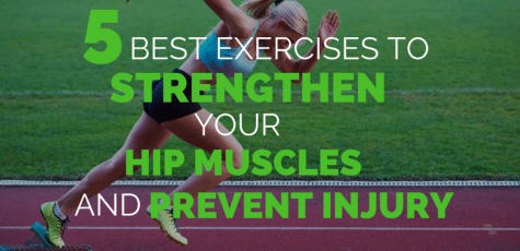 There are so many hip strength exercises, which are the best for runners that will strengthen hip muscles to prevent injuries? Research found these 5 worked