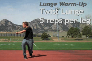 stretching for runners_lunge with twist