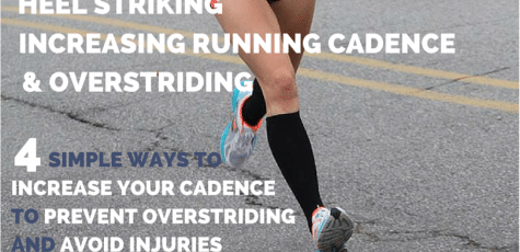 Heel striking is bad for runners right? Wrong! Overstriding is bad for runners, and here is how to increase your running cadence and stop overstriding so you can stop getting injured all the time!