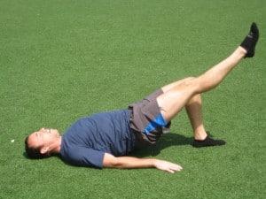 glute bridge runners hip strength