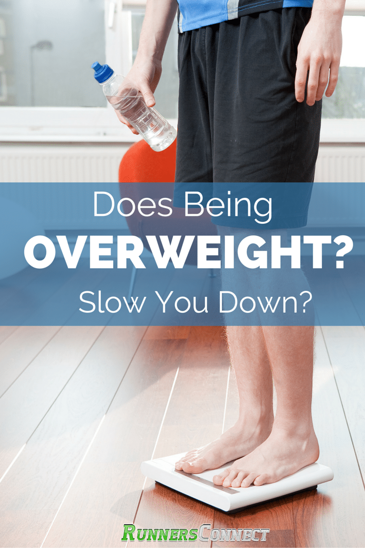 Ever wonder how much those few extra pounds you're carrying around will slow you down? We examined the research and summarized the findings for you