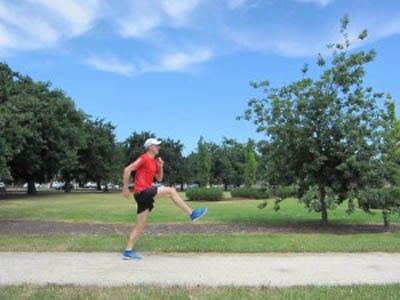 Running Drill: The B-March Courtesy of Runningtechniquecoach.com