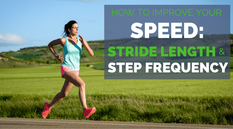 To run faster, should you increase step frequency or stride length? To increase your running speed, you need to do both, here is how.