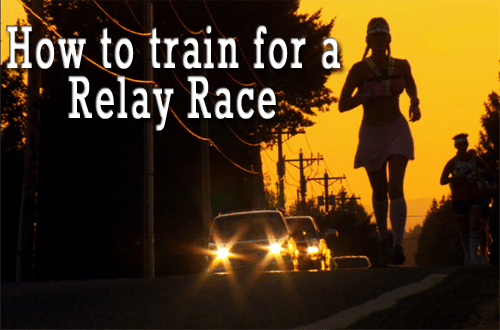 how to train for a relay race