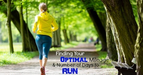 We help you determine what mileage and number of days running per week will help you run fastest, and find the balance between optimizing training and injury or overtraining.