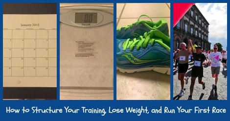 A behind-the-scenes case study with the exact steps you can take if your goals are to lose weight, get healthy, and run your first race