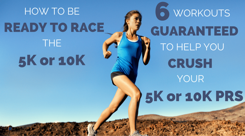 Want to make the most of your 5k or 10k training? Here is a 6-week 5k training plan with workouts to improve your speed.