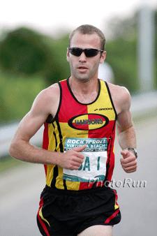 Luke Humphrey Hansons Half Marathon