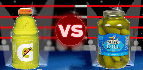 pickle juice muscle cramps