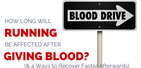 Is running after giving blood bad for us? How can we limit the affects and do a good thing without becoming anemic? Great advice here, and a realistic approach to donating blood for runners.