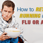 How to Return to Running after the Flu or a Fever
