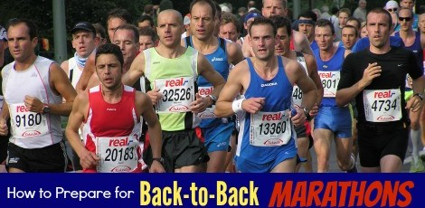 How to prepare for Back to back marathons FB